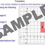 Translations using Vector Notation