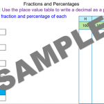 Fractions and Percentages