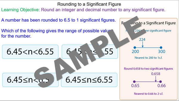 Rounding Numbers to a Significant Figure - Mr-Mathematics.com