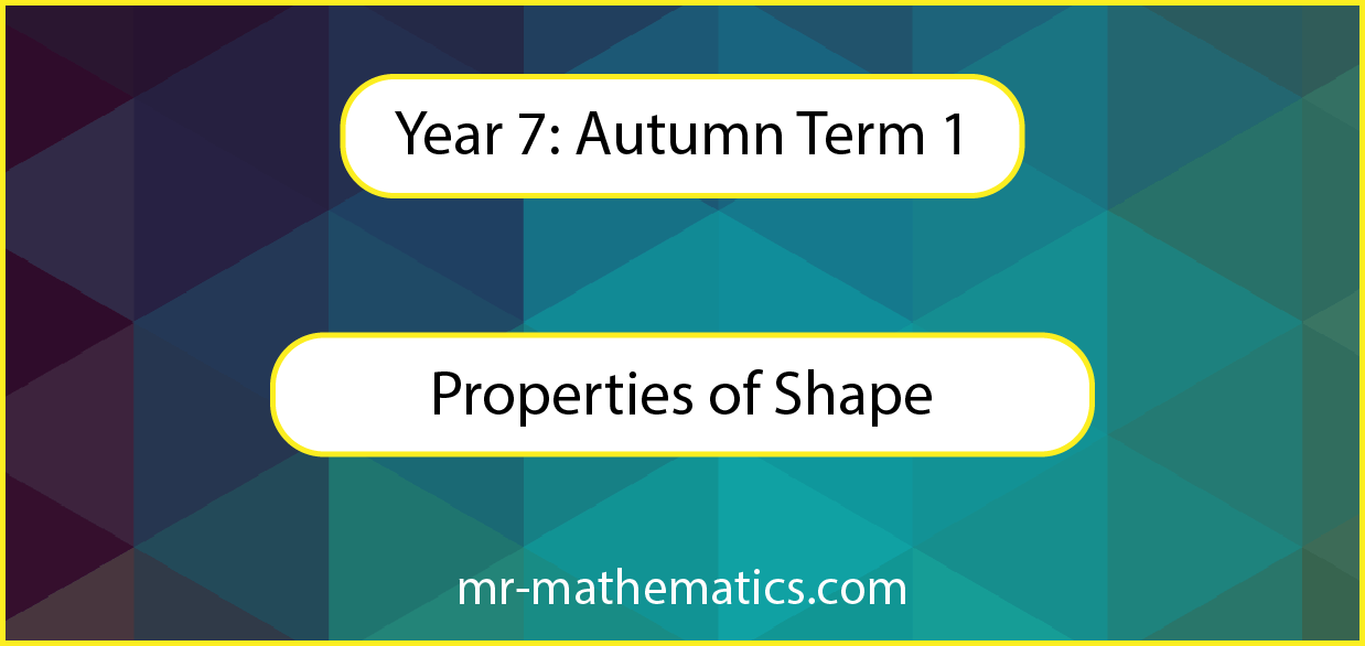 Properties of Shapes