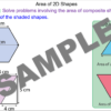 Composite Area of 2D Shapes