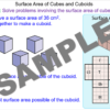 Surface Area of Cubes and Cuboids