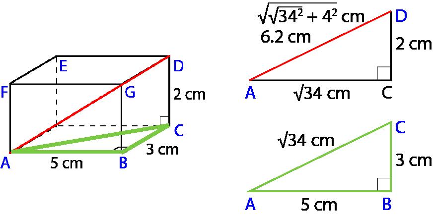 Pythagoras Theorem In 3d Shapes Mr Mathematics Com