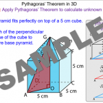 Pythagoras' Theorem in 3D