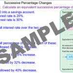 Repeated Percentage Change