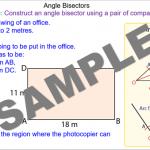Bisecting an Angle