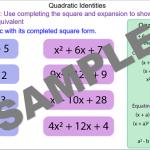 Solving Quadratic Identities