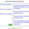 Revising Simultaneous Equations by Elimination