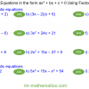 Revising Solving Complex Quadratics by Factorisation