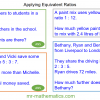 Revising Equivalent Ratios