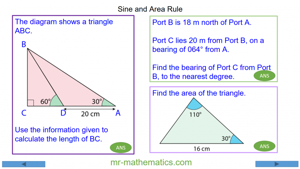 Revising the Sine Rule