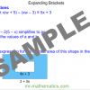 Revising Expanding Brackets