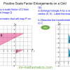 Revising Enlargements on a Grid
