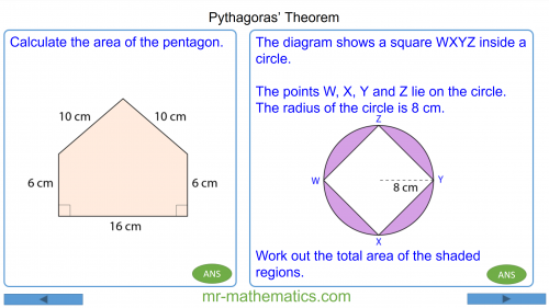 Revising Pythagoras' Theorem