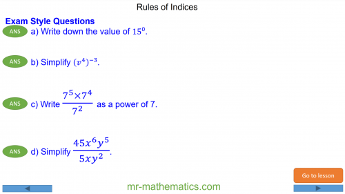 Revising Rules of Indices