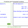 Revising Function Notation and Composite Functions