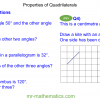 Revising Properties of Quadrilaterals