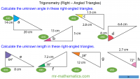 Revising Trigonometry in Right-Angled Triangles