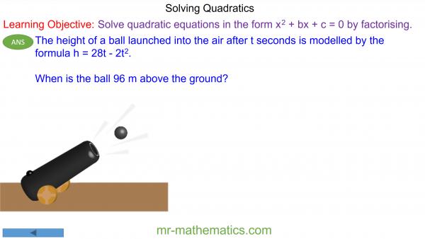 How to Solve Quadratics by Factorising
