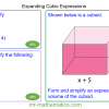 Revising Expanding Cubic Expressions