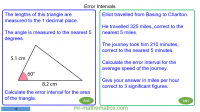 Revising Limits of Accuracy and Error Intervals