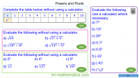 Revising Powers and Roots