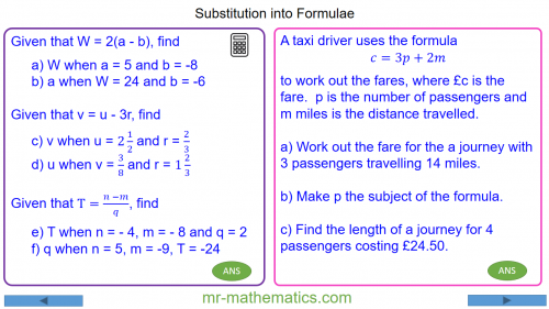 Revising Substitution into Formulae