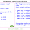 Revising Multiples and Lowest Common Multiples