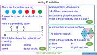Revising Writing Probabilities