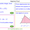 Revising Algebraic Proof