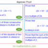 Revising Algebraic Proof