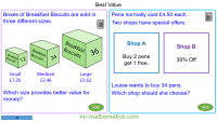 Revising Best Value Ratio Problems