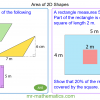 Revising Area of 2D Shapes