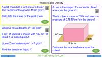 Revising Density and Pressure