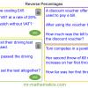 Revising Reverse Percentages