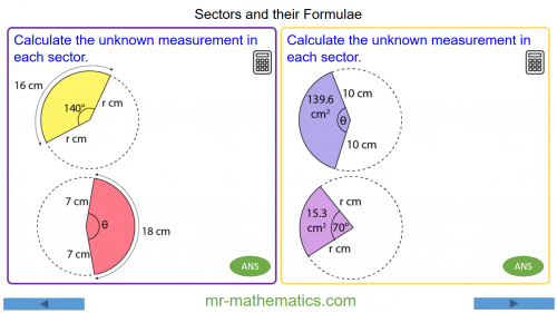 Revising Sectors and their Formulae