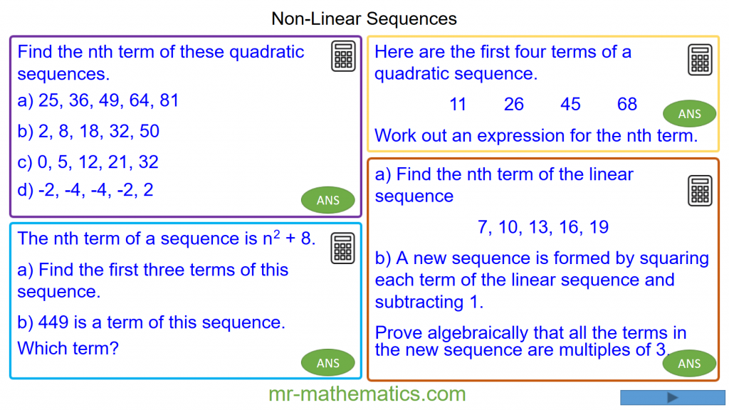 Revising Non-Linear Sequences