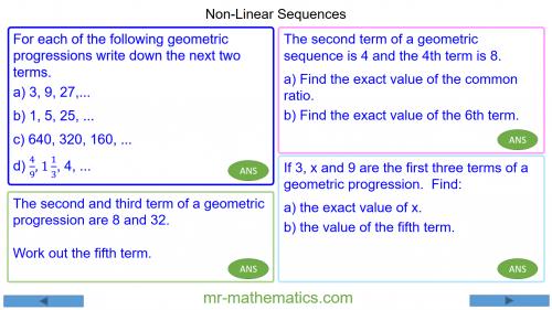 Revising Non-Linear Sequences