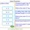 Revising Direct Proportion