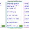 Revising Rounding and Estimations