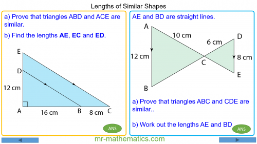 Revising Simlar Shapes