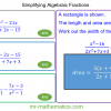 Revising Simplifying Algebraic Fractions