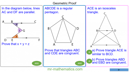 Revising Geometric Proof