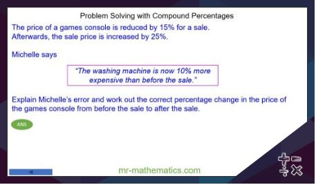 Problem Solving Mathematics Lessons