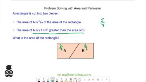 Problem Solving - Perimeter and Area