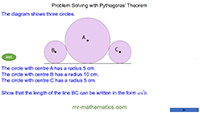 Problem Solving with Pythagoras' Theorem