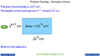 Problem Solving - Complex Indices