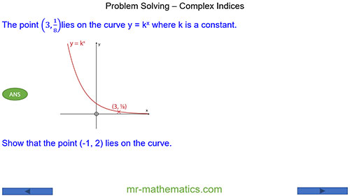 Problem Solving - Complex Indices