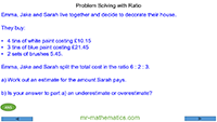 Problem Solving with Ratio