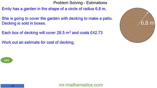 Problem Solving - Estimations